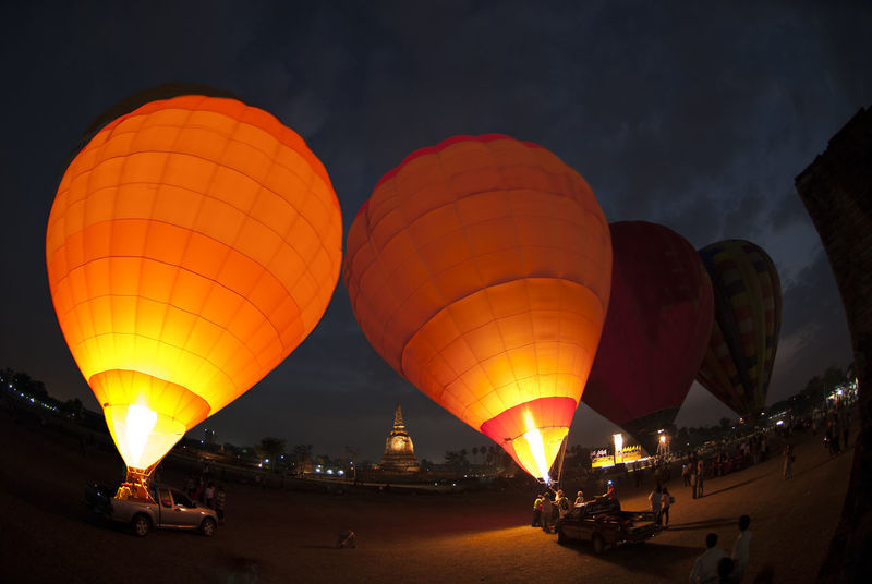 Hot air balloon show light and sound. Fly Fun Hot Land Light Paint The Town Yellow Adventure Air Ballooning Festival Colorful Festival Fire Flight Floating Garden Photography Heated Hot Air Balloon Illuminated Leisure Activity Night Outdoors Showing Transportation Yellow