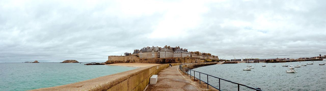 @st.malo Landscape_Collection Landscape EyeEm Best Shots Eye4photography  IPhoneography Panorama Sea St.malo France View First Eyeem Photo Travel Traveling Travel Photography