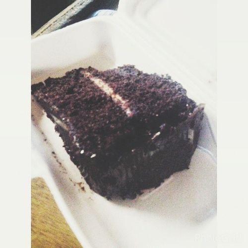 Craving satisfied! ❤? Chocolatemonster Latesnack