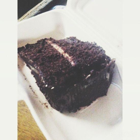 Craving satisfied! ❤? Chocolatemonster Latesnack