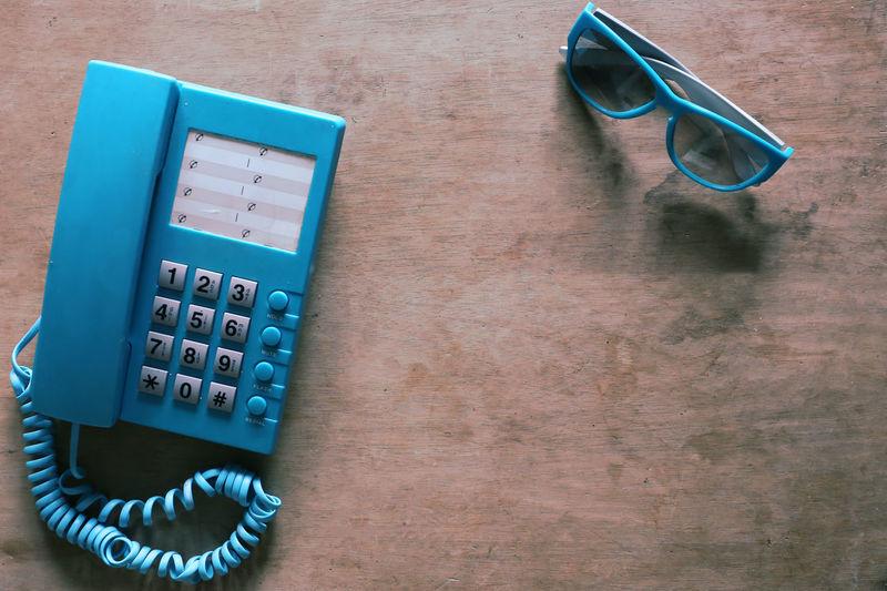 cyan telephone