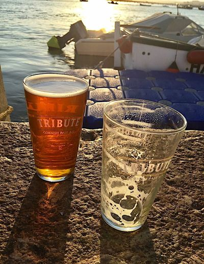 Sunbeam Outdoors Tranquility Pint Of Beer Missing You Missing Someone Harbourside Harbour Evening One For Dad Harbour Harbour Wall