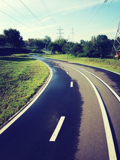 велосипед вело прогулка велодорожка доброе утро