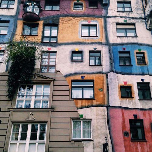 Hundertwasserhaus Viyana Viana Artchitecture Taking Photos Hello World Treveling Enjoying Life
