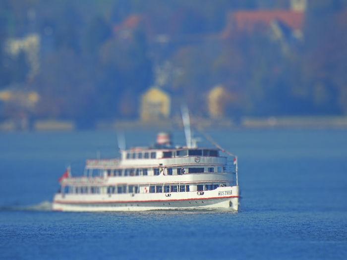 Sailboat in sea