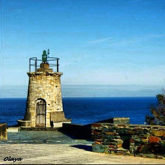 Faro Antiguo Cabo Cabosanagustin Piedra Acantilado Marcantabrico Pixotos Ortiguera Asturias Occidental Paraisonatural