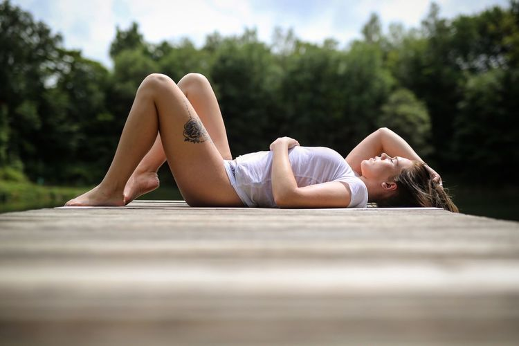Check This Out Taking Photos Enjoying Life Portrait Of A Woman Sexygirl Nature Harmony Relaxing WetLook Today's Hot Look