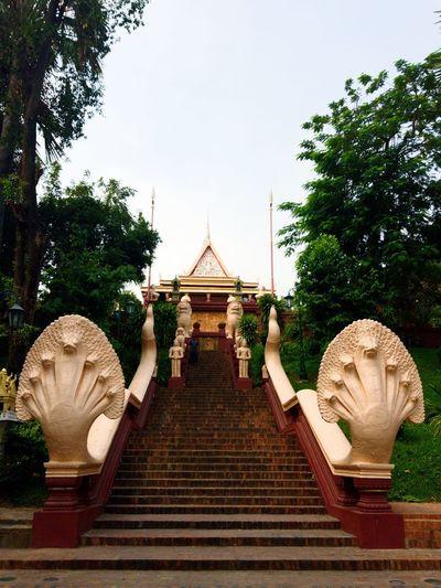 Wat Phnom Cambodia Phnom Penh Wat Phnom Urban