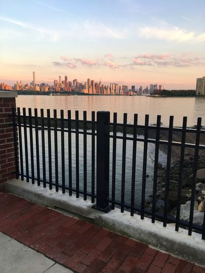 Water Sea Sky Railing Cloud - Sky Sunset Outdoors Horizon Over Water Nature No People Scenics Day Architecture Beauty In Nature