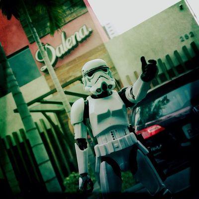 Explorando o Recife e parei na Dalena em BV. 😎 Stormtrooperrecife Toy Toyphotography toys actionfigure collection toystagram hipstamatic