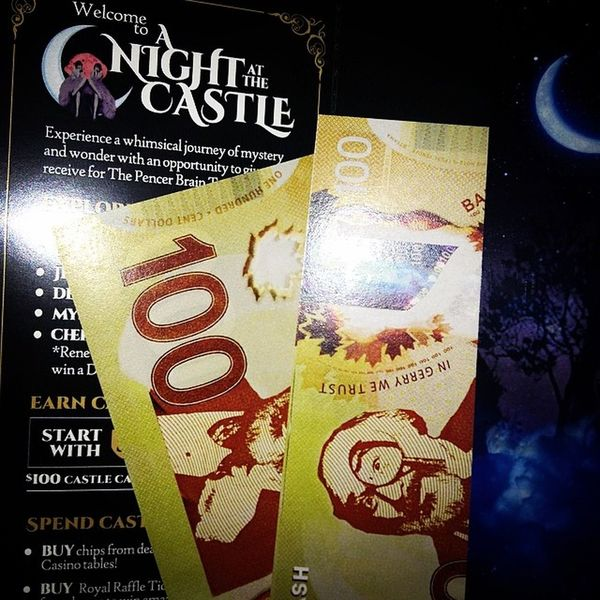 "They even gave us ""Castle Money"". We can spend it, gamble it...even earn more!"