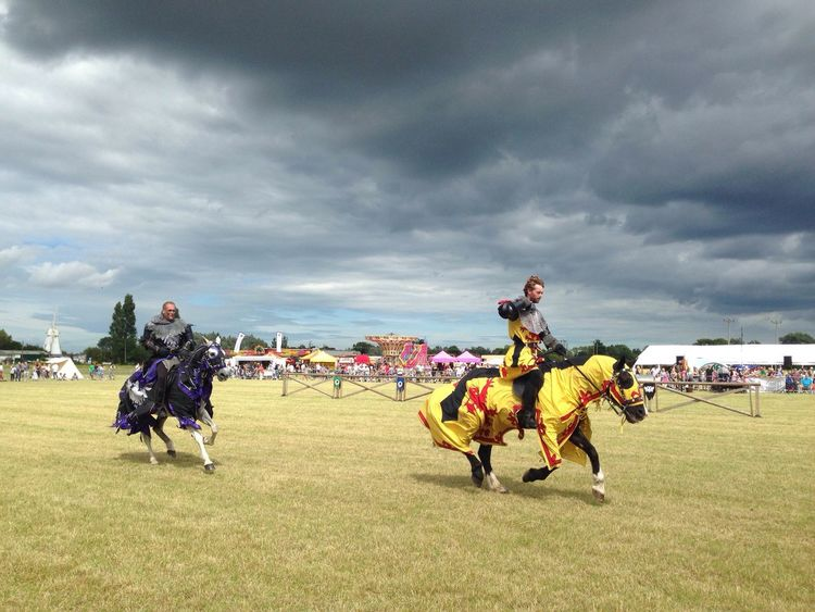 Jousting People And Places