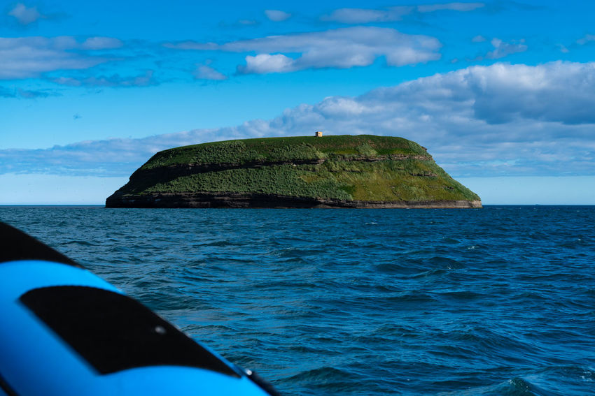 Puffin Island Iceland Beautifuliceland Beauty In Nature Blue Cloud - Sky Day Horizon Horizon Over Water Idyllic Nature Nautical Vessel No People Outdoors Rock Scenics - Nature Sea Sky Stack Rock Tranquil Scene Tranquility Transportation Water Waterfront
