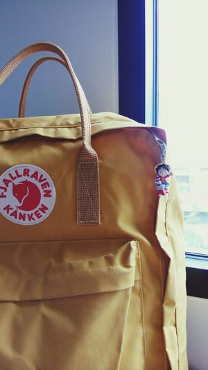 Kanken Kankenbag Kanken Bag Bagpack Bagpacker Bagpacking Trip Chanthaburi OnePiece Mybag Mytravel Yellow Bag Bag Ochre Color Ochre