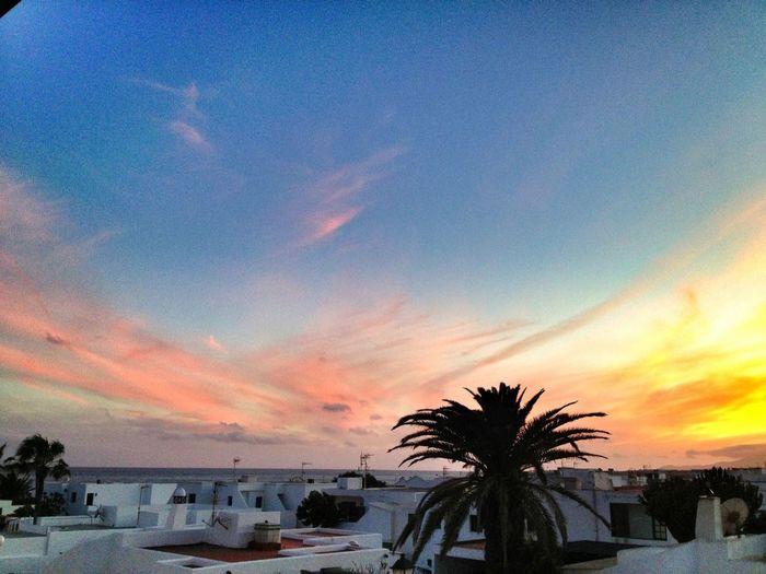 Sunset Enjoying The Sun Sunset #sun #clouds #skylovers #sky #nature #beautifulinnature #naturalbeauty #photography #landscape Sun_collection