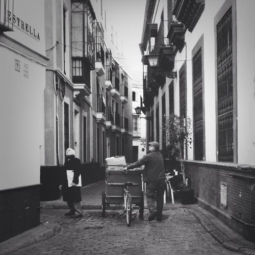 Recuerdos de Sevilla Black And White Street Photography