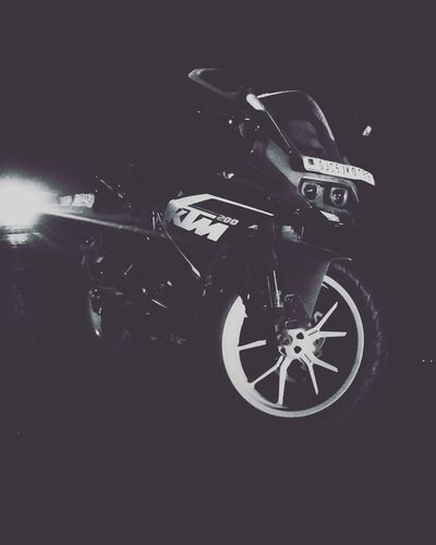 dark night Ktm