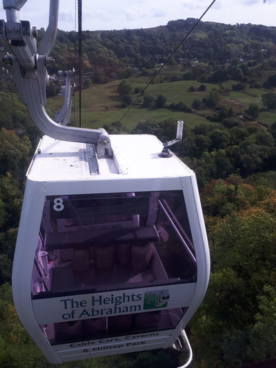 Overhead Cable Car Cable Car