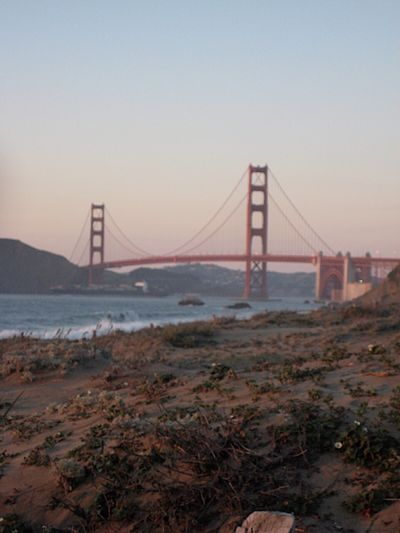Architecture Baker Beauty In Nature Bridge Bridge - Man Made Structure Built Structure Connection Engineering Golden Gate Bridge Idyllic Landscape Long Mountain Nature No People Ocean Outdoors Scenics Sky Suspension Bridge Tourism Tranquil Scene Tranquility Travel Destinations Water
