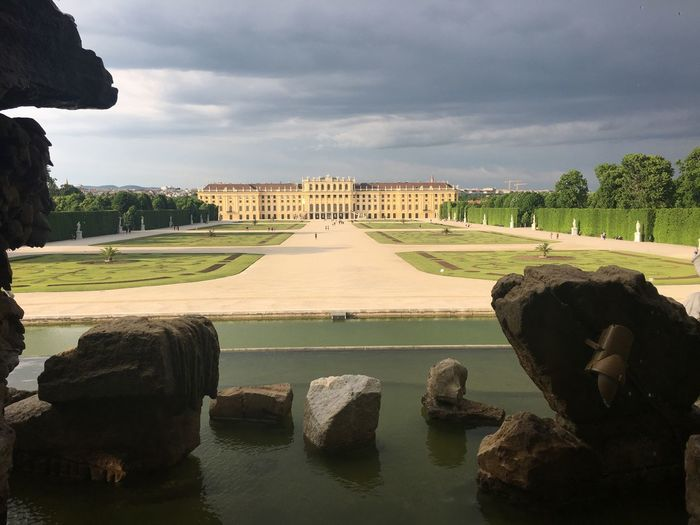 Hofburg Cloud - Sky Architecture Sky Built Structure Nature Plant Tree Water Travel Destinations Tourism Ornamental Garden Formal Garden History The Past Outdoors Garden Day