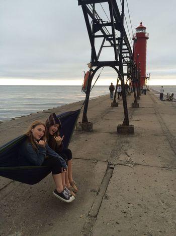 Hammocking Sunset Pier