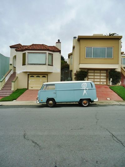 San Francisco Volkswagen Type 2 Panel Van Architecture