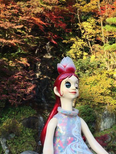 花の女神フローラ 福島ビエンナーレ ヤノベケンジ 増田セバスチャン Art Autumn Autumn Colors Autumn Leaves