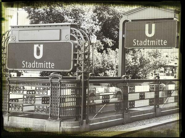 Stadtmitte Subway My Berlin  Soistberlin  Taking Photos