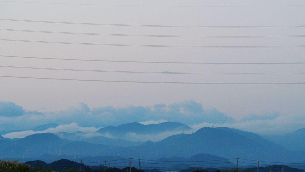 Mountain Atmosphere Blue Stratocumulus Mirrorless Japan