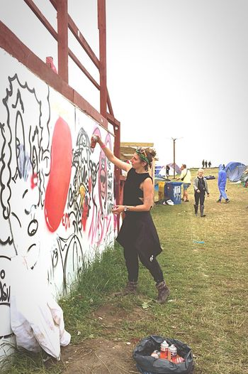 Graffiti Roskilde Festival Creativity