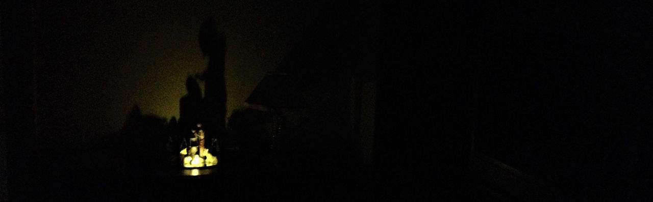 Christmas Light Presépio Natal Dark Illuminated Indoors  Night No People