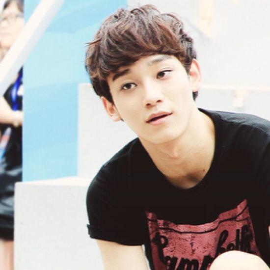Yesh. Happy birthday Chen!!! Chen EXO HappyBirthday Jongdae kpop seoulsmile seoulinspirit infinitenation trollingchen