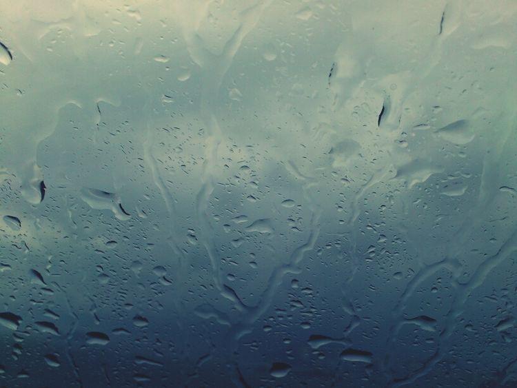 Rain Rainy Day Glass Storm As The Rain Falls