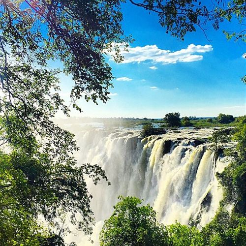 Waterreflections  Victoriafalls Zimbabwe Africa Travelphotography Waterfall Photoshoot Photography Great Views Natural Beauty