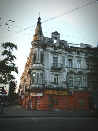 Oldarchitecture Odessa Nice OdessaUkraine Oldhouses Building Home My City Summer City Sky Oldcity Street Summer Sunset