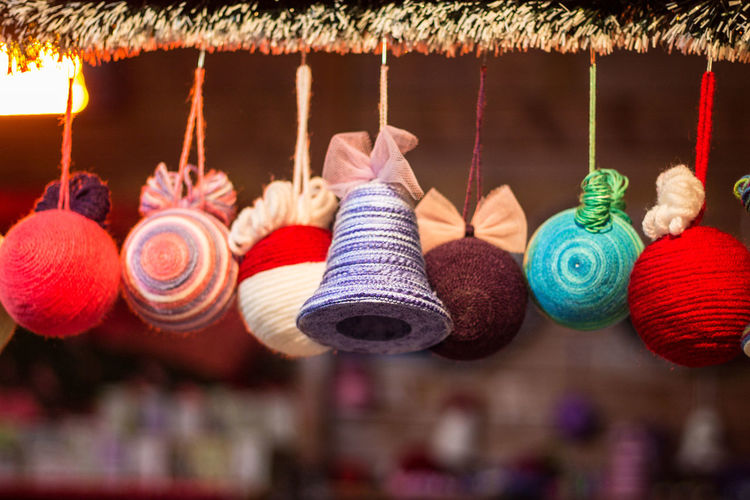 Christmas Christmas Christmas Decorations Close-up Colour Colourful Colours Day Decoration Decorationideas Decorations Decorations 🎭 Globes Hanging Holiday - Event Joy Joyeux Noël Multi Colored No People Variation Winter Winter Wonderland Wintertime Xmas Xmas Decorations