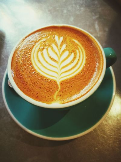Coffee perfection Coffee - Drink Coffee Cup Cappuccino Froth Art Food And Drink Milk Art