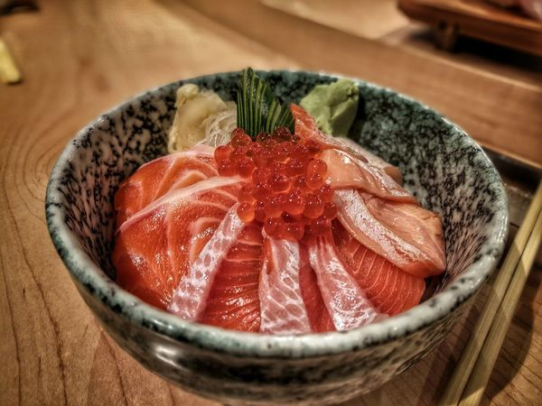 Salmon ikura don Salmonikuradon Ikura Don Ikura Sushi Ikura Caviar SalmonDonburi Salmon - Seafood Salmon Sashimi