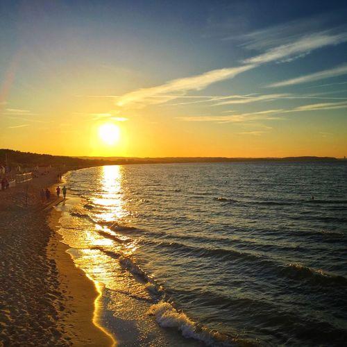 The Sunset Zone Gdańsk 30 June 2015 Iphone 6 Plus IPhoneography Sunset_collection Beach Gdansk EyeEm Masterclass EyeEm Best Shots Seaside Poland The Week On EyeEm IPSWeather