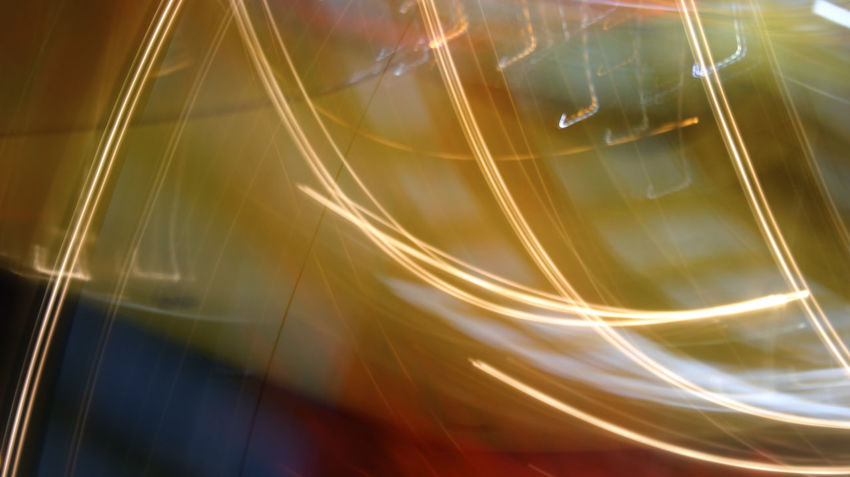 Abstract colorful background. Shoot with long exposure. Blurred Motion Close-up High Street Illuminated Light Trail Long Exposure Motion Night No People Outdoors Speed Star Trail Transportation