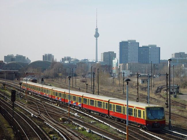 Berliner S-Bahn  Urban Geometry Tadaa Community EyeEm Around The World