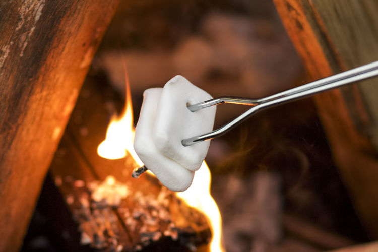 anybody up for s'mores? Camping Close-up Fire Focus On Foreground Food Foodphotography Heat - Temperature Outdoors Snack Time! Tadaa Community
