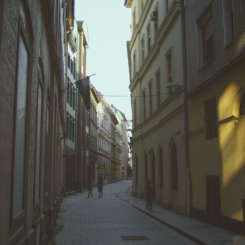 Walk the wall. Budapest Hungary Europe Pest Old Pest Narrow Street Travel Inatagram Filters Light Shadow