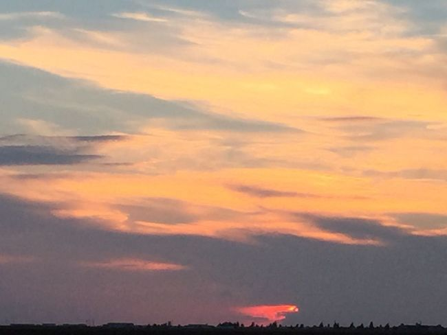 Sunset Amarillo, TX Beauty In Nature Tranquility Tranquil Scene Sky Cloud - Sky Majestic Cloudscape Orange Color Nature Idyllic Cloud Environment Atmospheric Mood Dramatic Sky Atmosphere Non-urban Scene Outdoors Vibrant Color