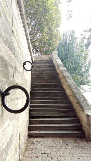 Day Built Structure No People Architecture Steps Outdoors Steps And Staircases Old Architecture Iron Ring Perspective Cobblestone Dock Tree La Seine Bridge EyeEmNewHere The Week On EyeEm Place To Visit Old Rock