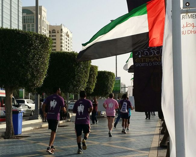 Uae,abudhabi Etihadairways 3rd Annual Charity Event Run For A Cause Outdoor Photography