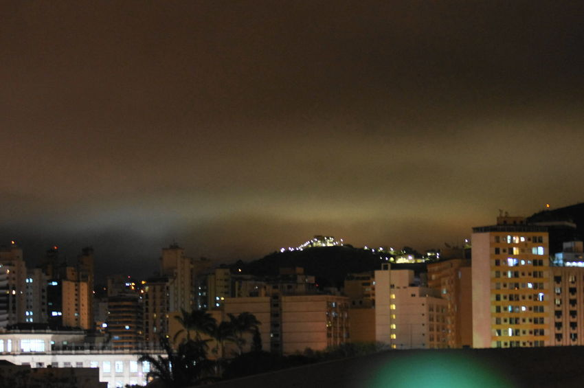 Building Exterior Cityscape Illuminated Night No People Residential  Sky Town