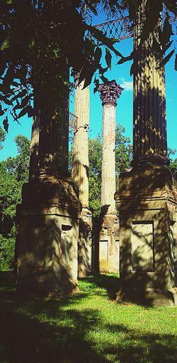 Natchez Historical Sights Mississippi  Windsor Ruins