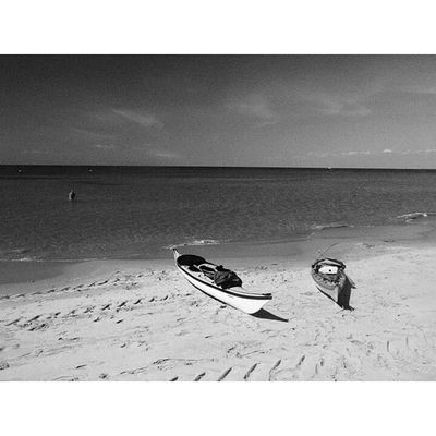 Beach Sand Outdoors Sea Shadow Day Nature Diving Flipper Black And Withe Kayak Horizon Over Water Holiday