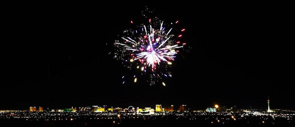 Firework Firework Display Las Vegas Multi Colored Night No People Sky Thestriplasvegas Vegas  Vegas Blvd